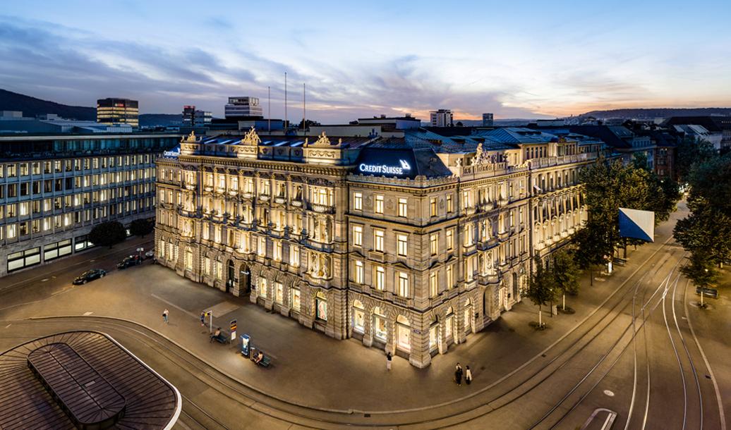 Event Credit Suisse AG Virtuelle Informationsveranstaltung Kaufmännische Lehre Region Zürich header