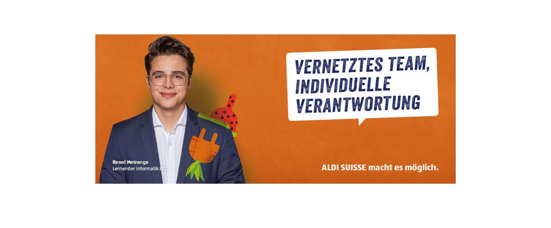 Event ALDI Suisse Informationsabende Lehrstelle Informatiker/-in 2021 10. März header